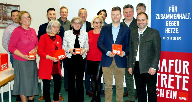 Aufstellungsversammlung der SPD Bad Abbach