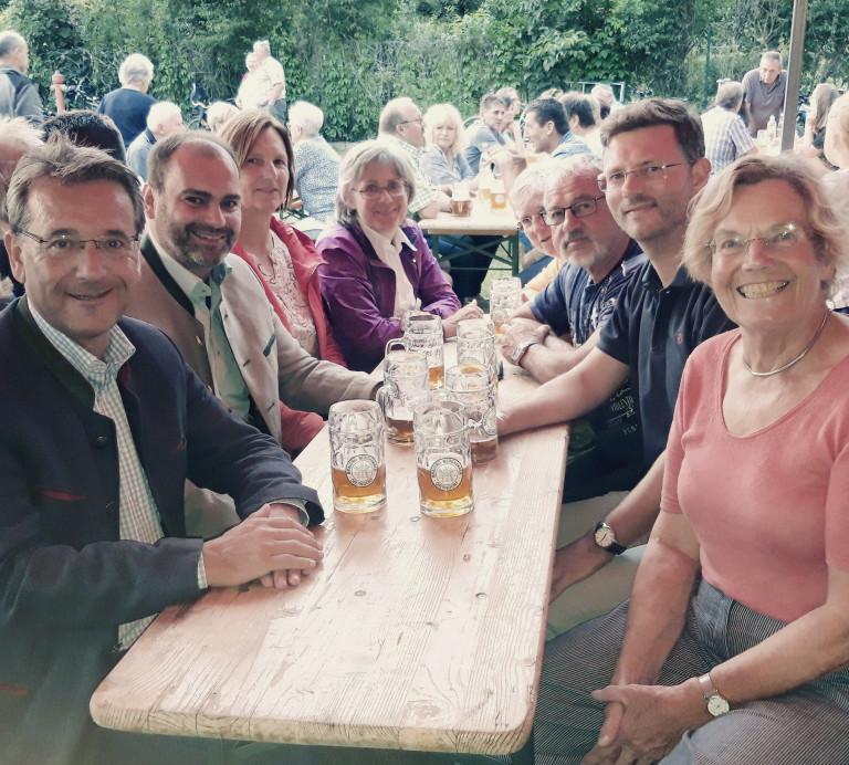 SPD besucht Oberndorfer Krautfest